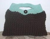 Square bag crochet pattern big bottom purse free shipping anywhere pdf
