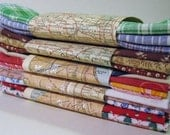 Handkerchief 4 pack hanky set cotton pocket squares