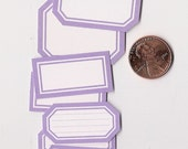 hydrangea minis - adhesive labels stickers