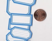 rain minis - adhesive labels stickers