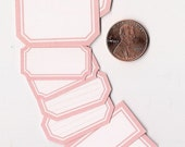 cotton candy minis - adhesive labels stickers