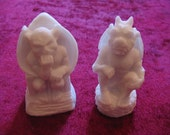 4 Gothic Gargoyle soaps - king and queen