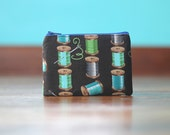 Coin Pouch - Spools of Thread