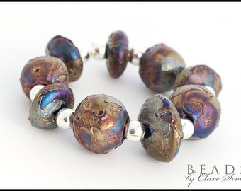 Primitive - Handcrafted Lampwork Glass Beads by Clare Scott SRA
