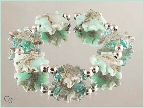 Portmeirion - Handcrafted Lampwork Glass Beads by Clare Scott SRA