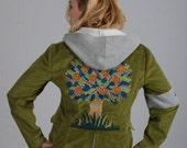 Earth Bitch Jacket Moss Green Corduroy
