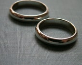 Wedding Bands - Set of Silver Rings FREE ENGRAVING