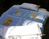 Boys Cot Comforter Set BNIB in White