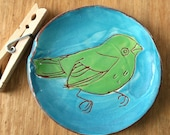 Winter bird plate