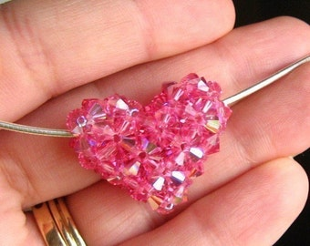 Crystal Puffy Heart Tutorial / Instructions