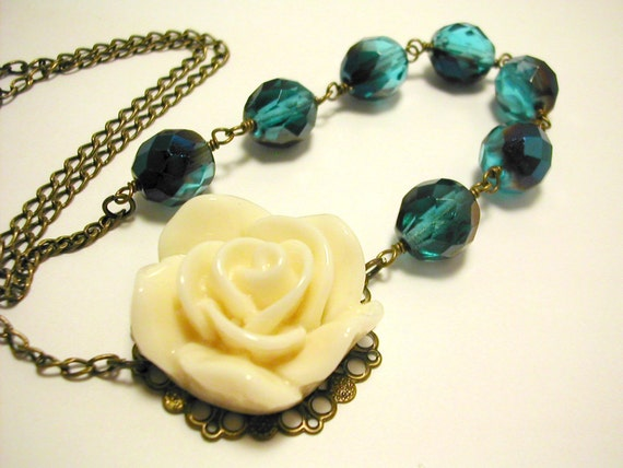 Colette Rose Necklace