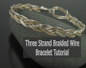 Wire Braiding Tutorial, Learn how to Braid with Wire, PDF file sent via email
