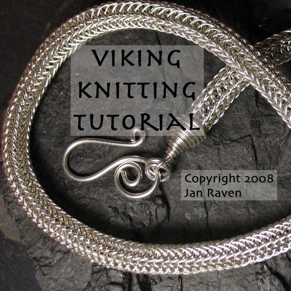 Knitting With Wire Instructions : Viking knitting tutorial learn to weave wire with this by