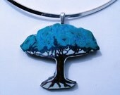 TREE OF THE WORLD ORIGINAL ART PENDANT
