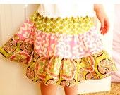 Little Girl Skirt and Headband Set