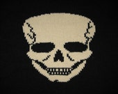 Skull Sweater - to Order - Sizes Extra-Small - Small - Medium