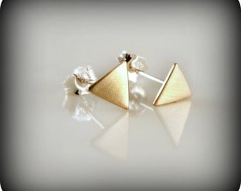 Small triangles - earrings
