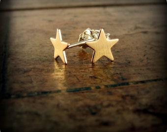 Tiny stars - earrings