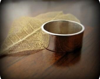 Mirror - sterling silver ring