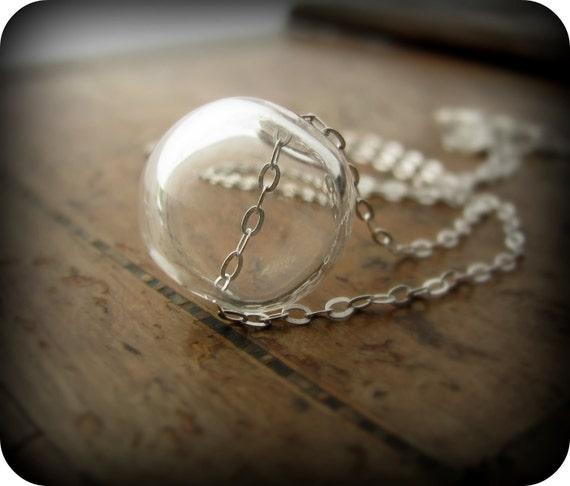 Glass bubble - necklace
