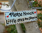 Door sign for Kids in Blue