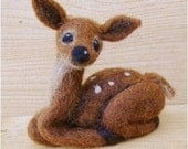 Needle Felted Wool Fawn