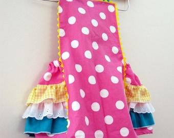 Girl - Retro Ruffler  - Cotton Candy - Jumper  - Toddler - Baby