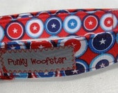 The Patriotic Pup - red, white, and blue stars - Punky Woofster