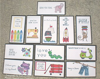 Lunch Box Love Notes Series 7a, Lunch Notes for Kids, Lunch Box Notes