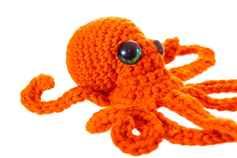 Free Amigurumi Patterns Octopus : Realistic octopus crochet pattern pdf