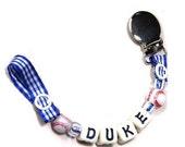 Custom Ribbon Binkie Clip
