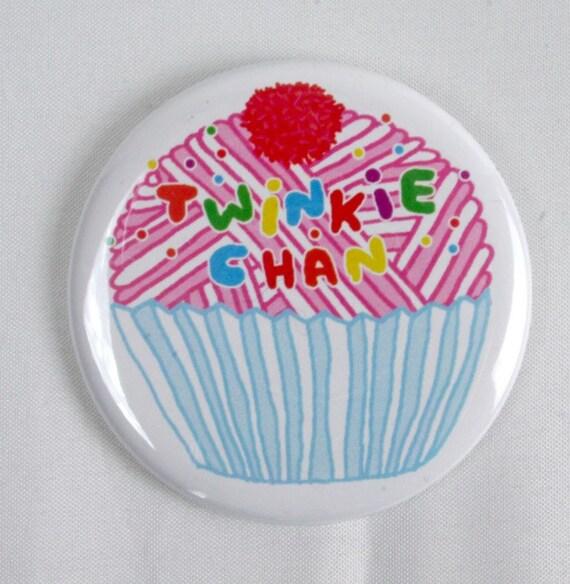 Yarn Cupcake 2.25 Button