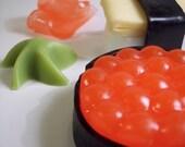 Combination Ikura and Tamago - vegan soap set