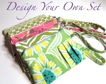 Design Your Own Set of Pleated Wristlets - Great for Bridesmaid's Gifts
