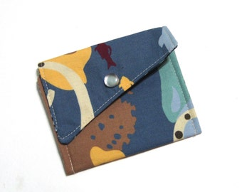 Card/Jewerly Pouch - The Deep Blue Sea