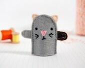 Kitten Finger Puppet - Thunder - Role Play