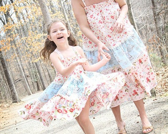 Country Twirl Mommy & Me custom twirl dress size 12 months to 12 yrs