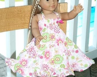 """Caroline 18"""" doll dress American Girl  or 23"""" doll"""