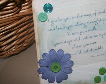 Proverbs 4 verse Card
