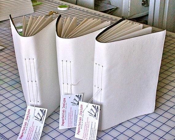 Medium Size -The Starving Artist- Art Journal - Handbound - Sketchbook - Medium
