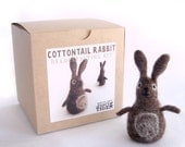Cottontail Rabbit Needle Felting Kit