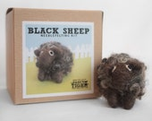 Black Sheep Needle Felting Kit
