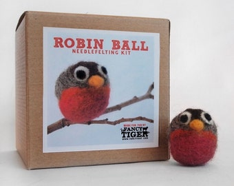 Robin Ball Needlefelting Kit