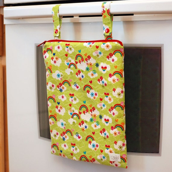 Groovy - Kitchen Wet Bag from green by mamamade