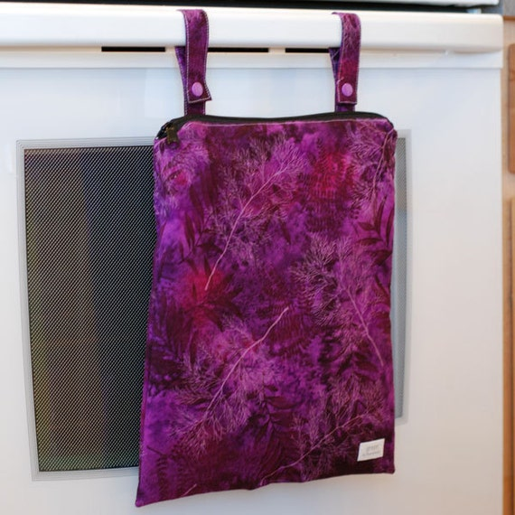 Ferns at Dusk - Kitchen Wet Bag from green by mamamade