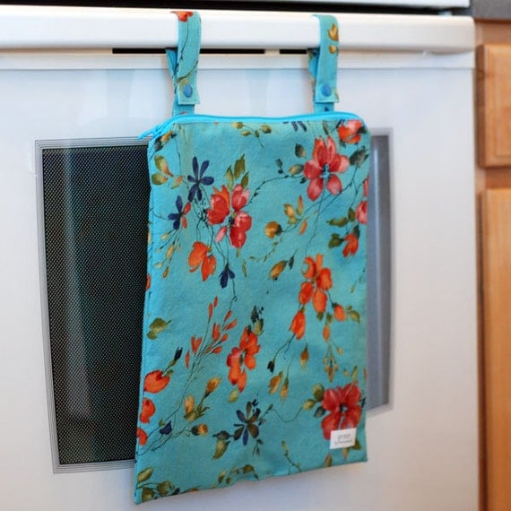 Watercolor - Kitchen Wet Bag from green by mamamade