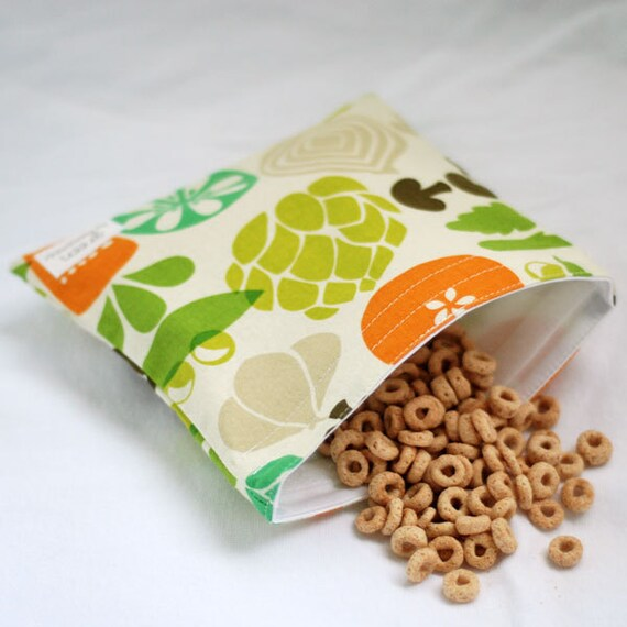Veggie Garden - green by mamamade Eco-Friendly Reusable Sandwich Bag
