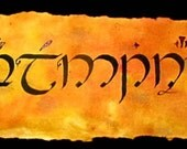 Your Name in Elvish