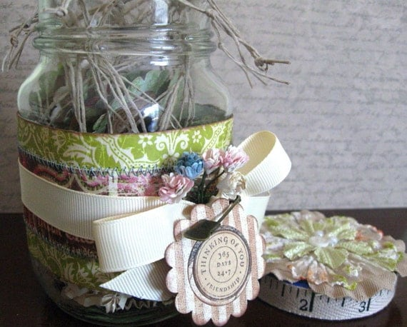 Altered Jar and Gift Tags Set All Occasion Clearance