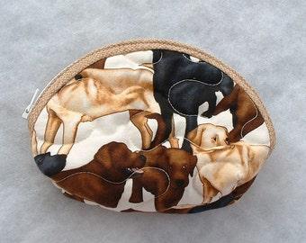 Small Quilted Purse - Labrador Retrievers